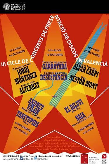Presentacions de discos en valencià