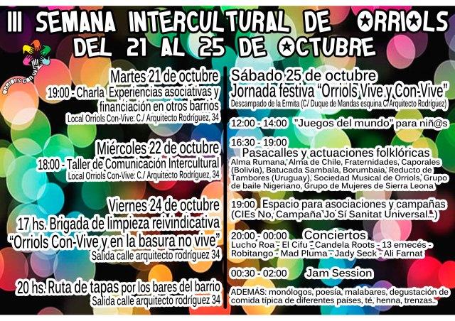 programa III semana orriols intercultural